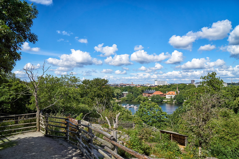 Overlooking Stockholm from Skansen