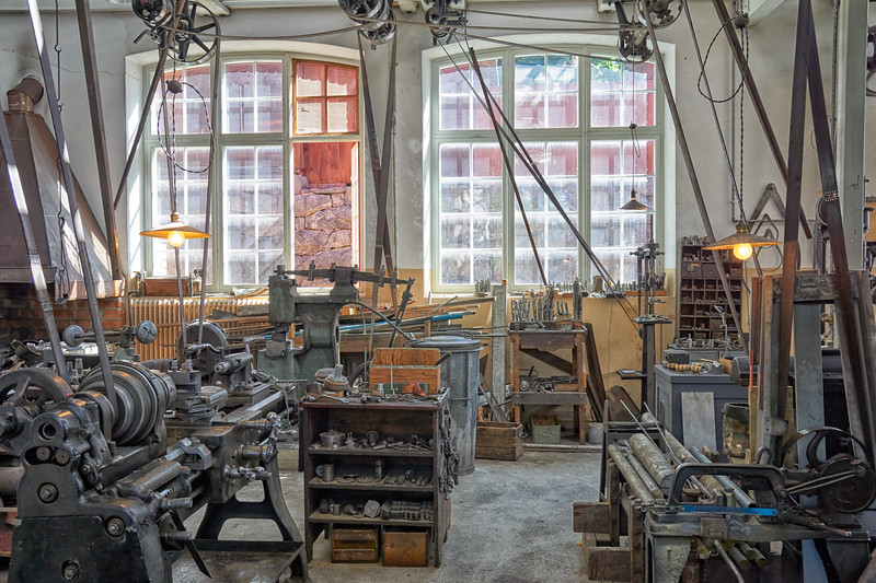 A 19th Century metal-working shop