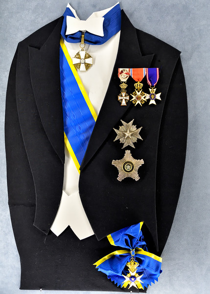 Bedeckt in the Royal Order of the Vasa - founded 1772 by Gustav III