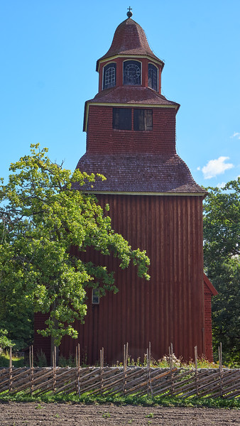 Seglora Church - erected in 1730