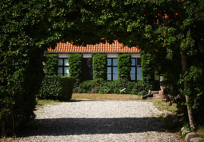 Home and garden of Isak Dinesen, author of Out of Africa