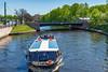 Russia-Saint Petersburg-Reka Kronverksikiy Protok