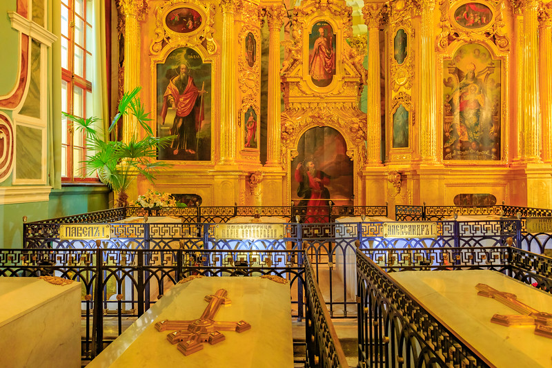 Russia-Saint Petersburg-Peter and Paul Cathedral