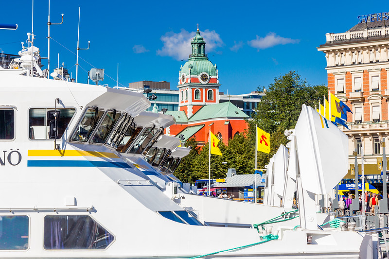 Sweden-Stockholm-Ferry boats