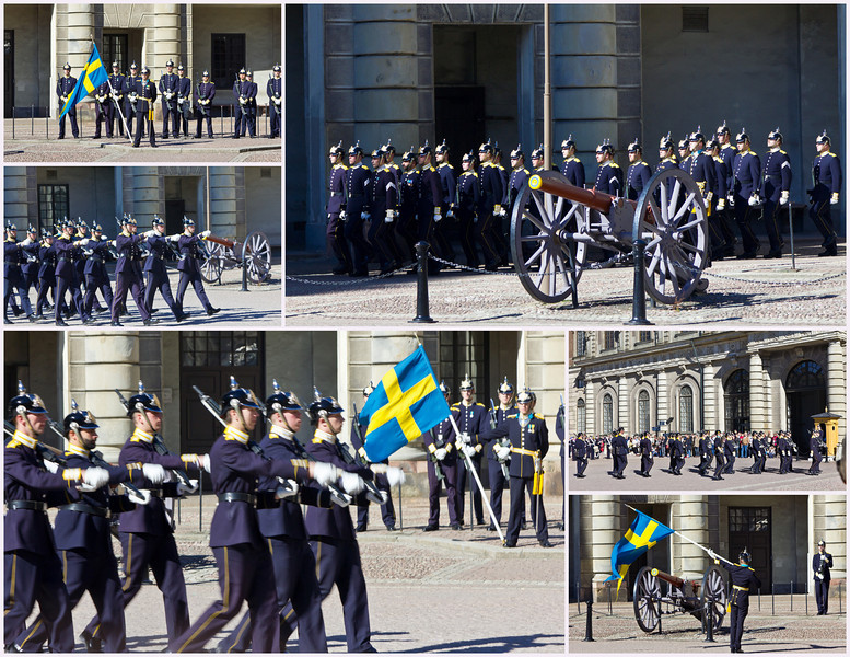 SWEDEN-STOCKHOLM-ROYAL PALACE-CHANGING OF THE GUARD COLLECTION