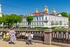 Russia-Saint Petersburg-Nikolo-Bogoyavlensky Morskoy Sobor-Youbng paibnters