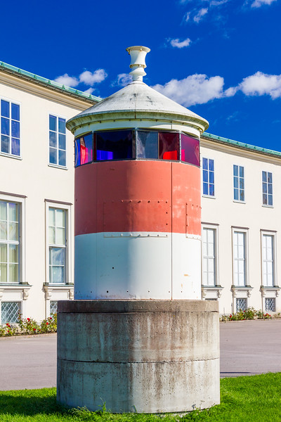 SWEDEN-STOCKHOLM-Sjöhistoriska museet-MARITIME MUSEUM-VAXHOLM LIGHTHOUSE [RELOCATED]