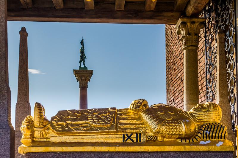 SWEDEN-STOCKHOLM-CITY HALL-Birger Jarl Tomb