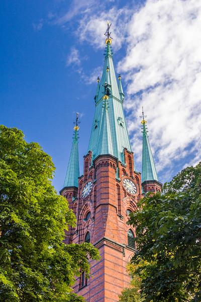 SWEDEN-STOCKHOLM-GAMLA STAN-TYSKA KYRKAN