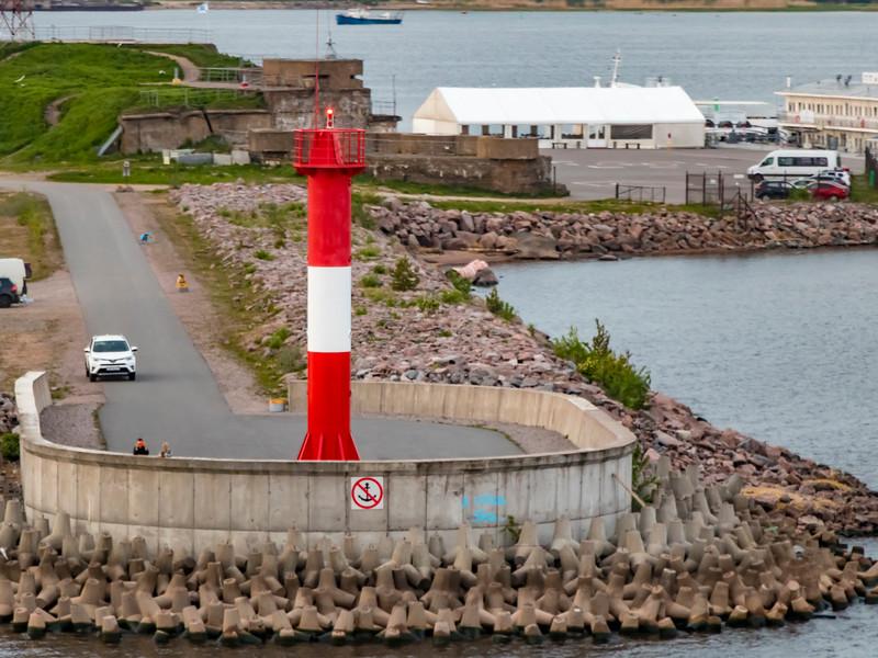 Russia-Saint Petersburg-Kotlin Island-Ostrov Kotlin Floodgate Inner North Mole