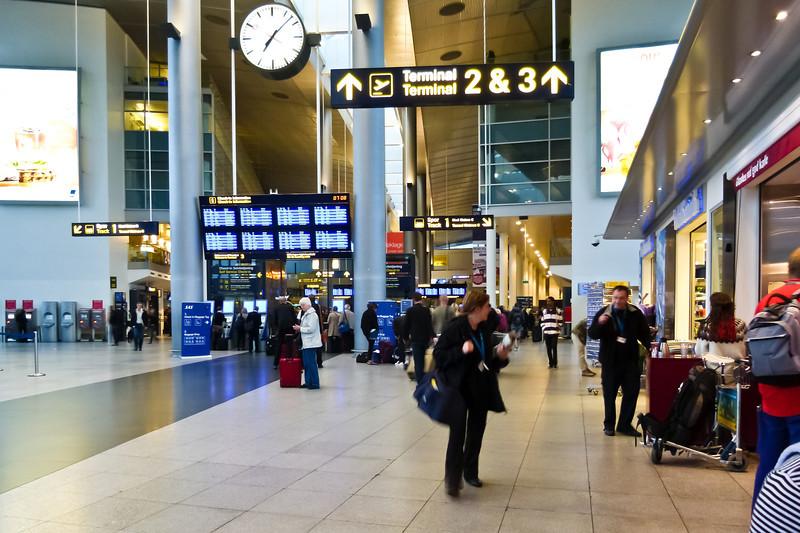 DENMARK-COPENHAGEN-AIRPORT