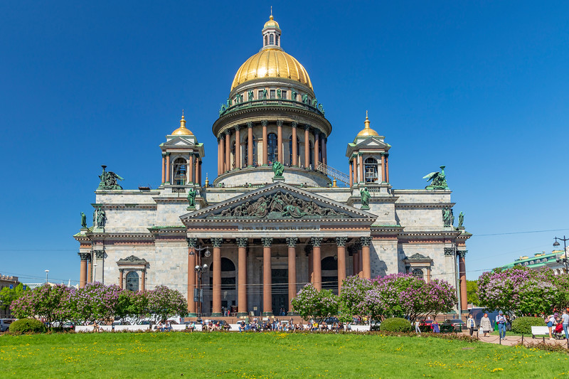 Russia-Saint Petersburg-St. Isaac's Cathedral