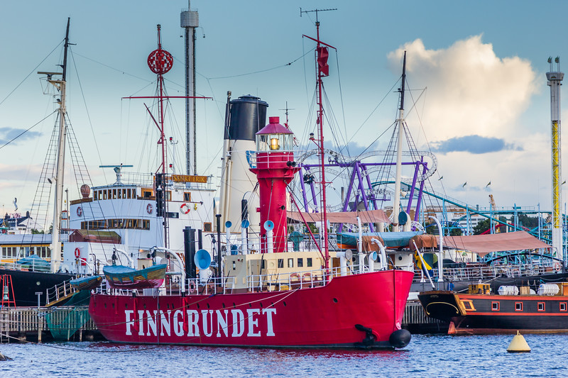 SWEDEN-STOCKHOLM-FINNGRUNDET LIGHTSHIP