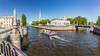 Russia-Saint Petersburg-Semimostie (Seven bridges) panorama