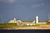 DENMARK-COPENHAGEN-HARBOR-TREKRONE ISLAND-TREKRONER LIGHT
