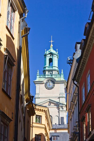 SWEDEN-STOCKHOLM-GAMLA STAN-STOR KYRKAN