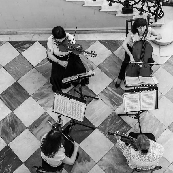 Russia-Saint Petersburg-Chambe music