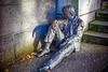 Norway-Bergen-Homeless Statue