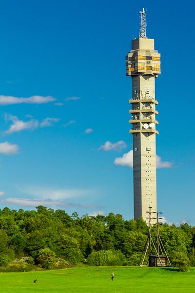 SWEDEN-STOCKHOLM-KAKNASTORNET-[TV TOWER]-LIGHTHOUSE