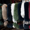 Furs for sale at the market
