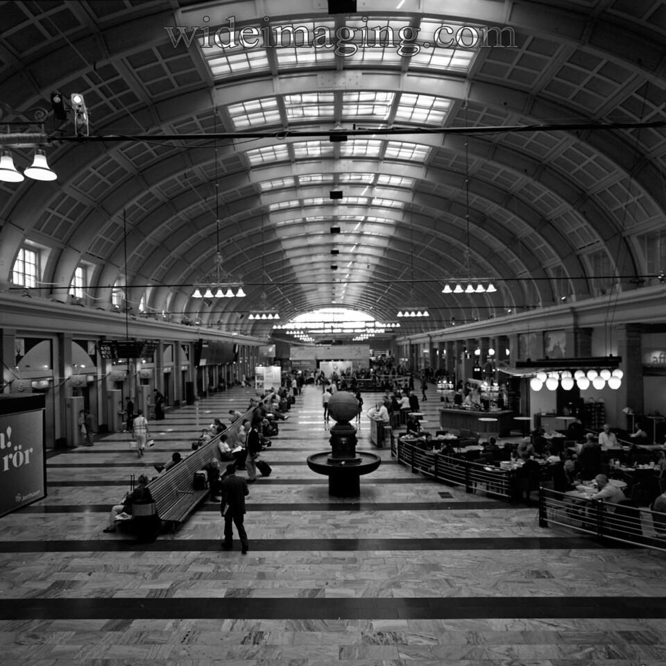 Stockholm central train station, August 2010.