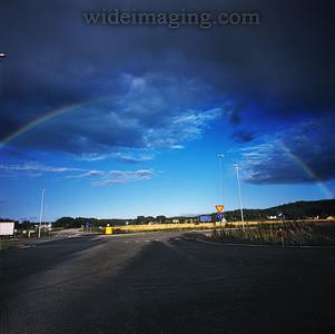 Rainbow in Skeen, August 2010