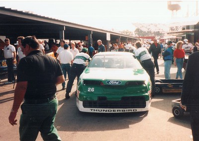 Brett Bodine's car
