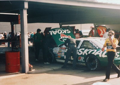 Harry Gant's car