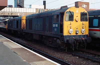 20 110 at Wolverhampton on 6th May 1990