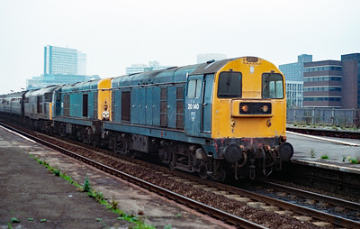 20 140 at Salford Central on 20th October 1990