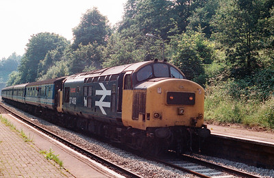 37 408 at Runcorn East on 30th June 1993
