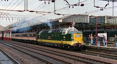 D9000 at Crewe on 15th November 1997