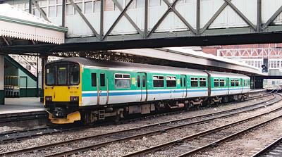 150 101 at Nottingham on 27th June 1999