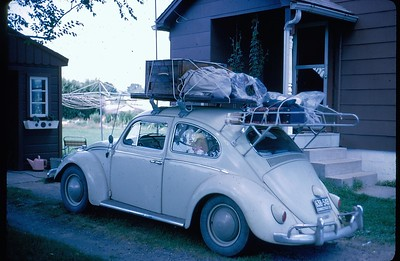 1965 VW Camping Trip across Canada