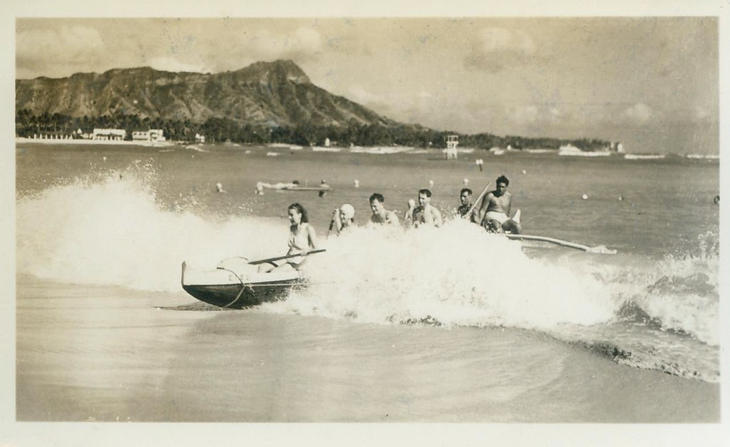 6-man Outrigger Canoe