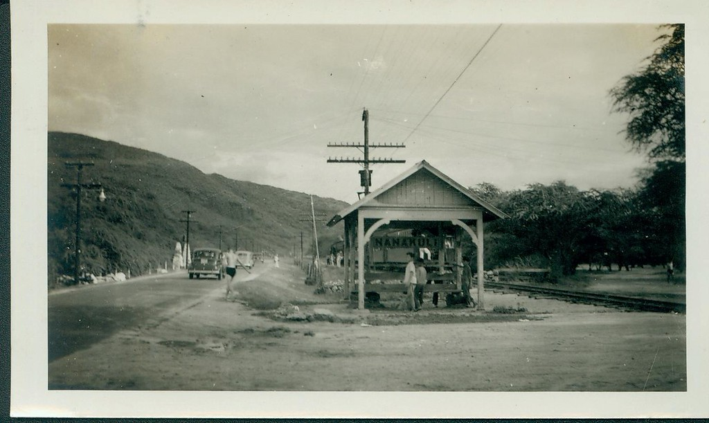 Nanakuli Train Stop