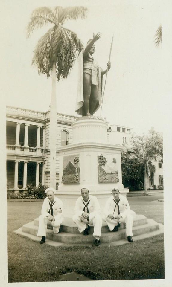 King Kamehameha with Sailers