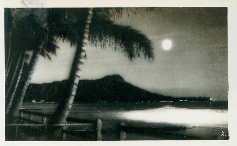 Postcard of Diamond Head