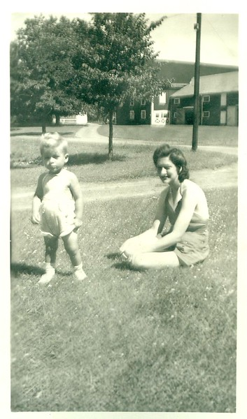 Butch (George) with Mom (June)
