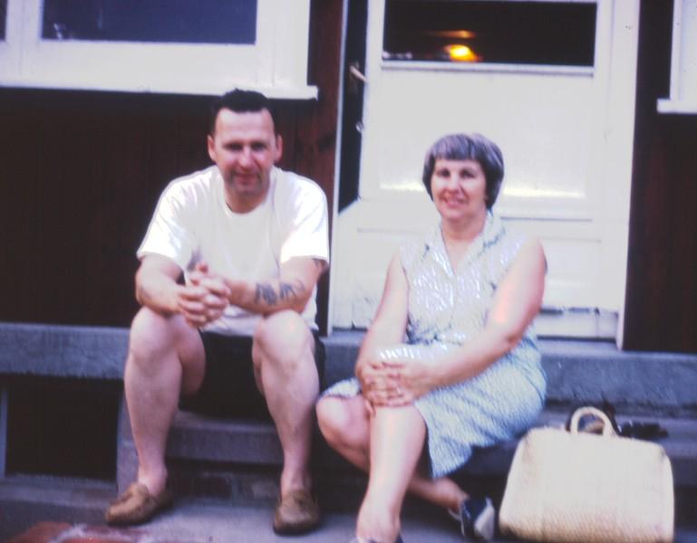 Nina Margaret and Grampa Ed