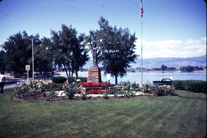 Statue at Lake Loveland