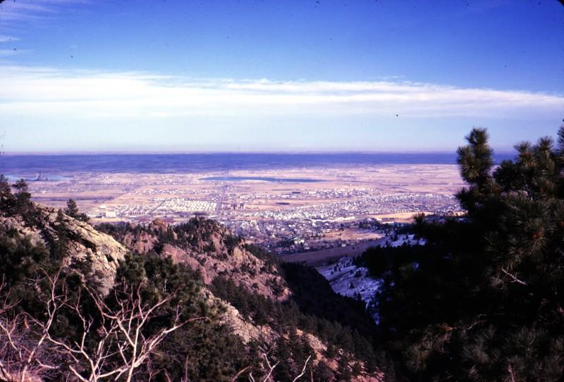 Overlooking Boulder