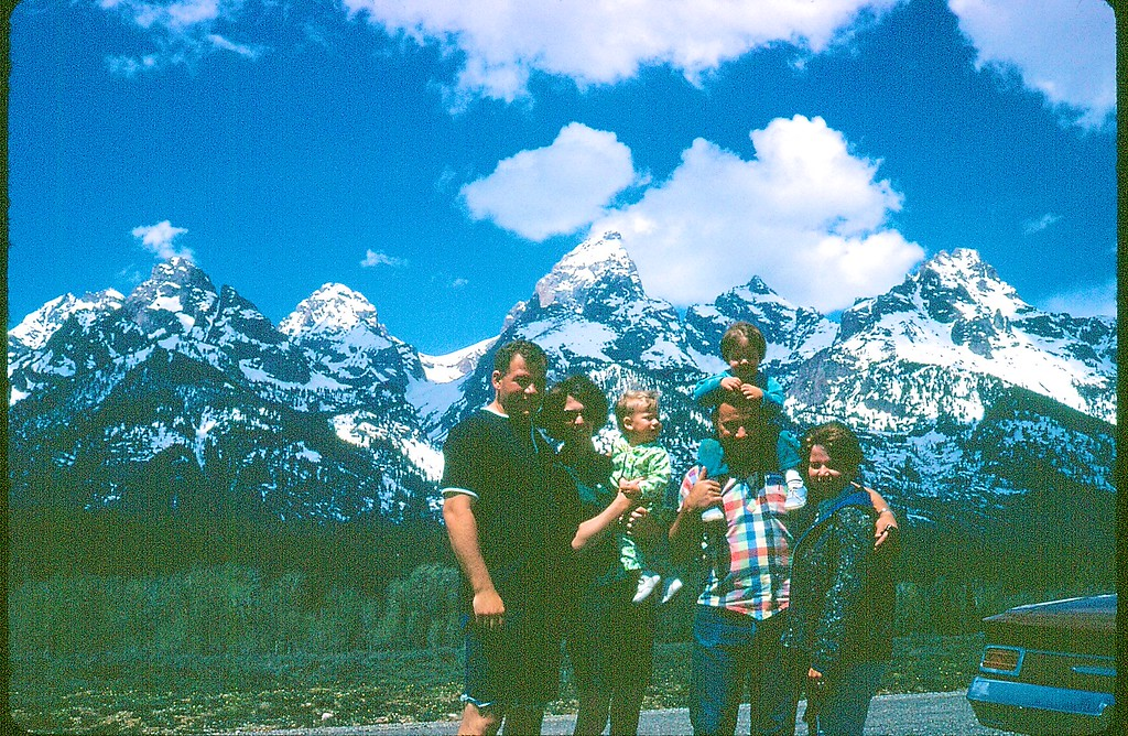 With Hansings in Tetons