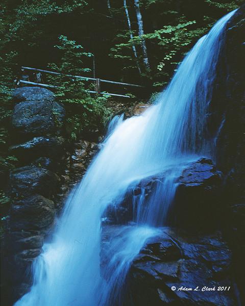 Avalanche Falls - Flume Gorge - Franconia Notch State Park