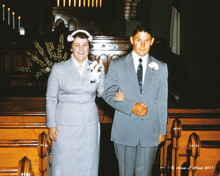 My grandparents just after getting married