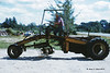 1961 - Construction equipment sure has changed over the years.  This grader didn't even come with a roof for the operator, one had to be made