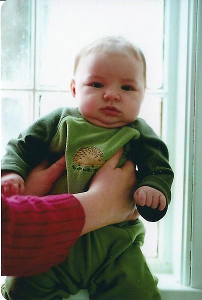 James 7 Weeks Old