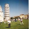Aun Dottie in Pisa, Italy