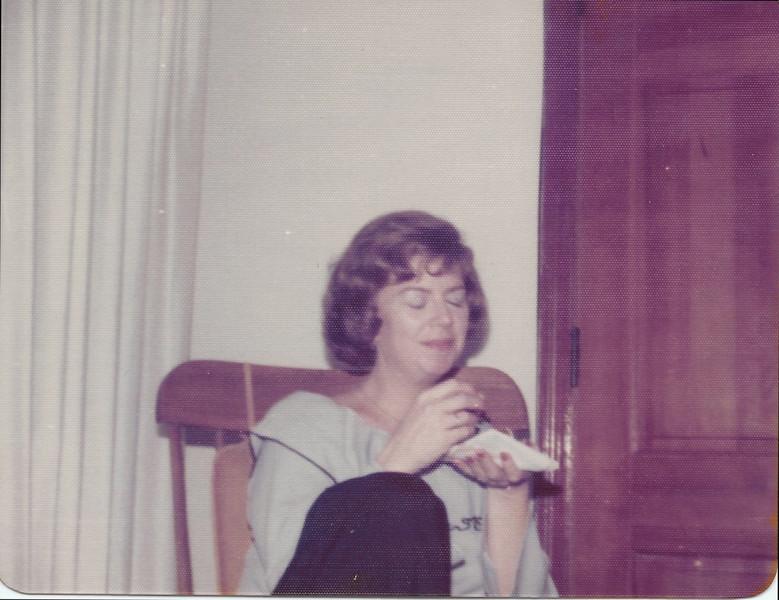 Diane Sloan - Fall 77