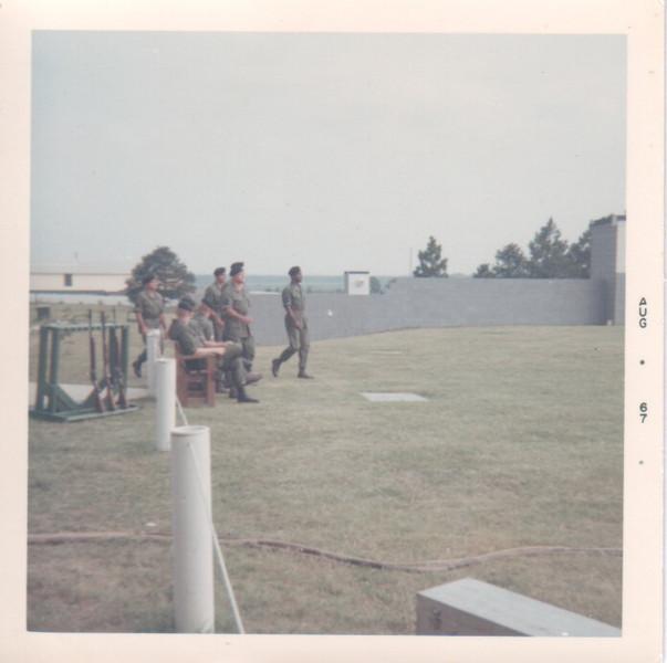 "Filming of ""The Green Berets"" - Ft Benning, Ga"